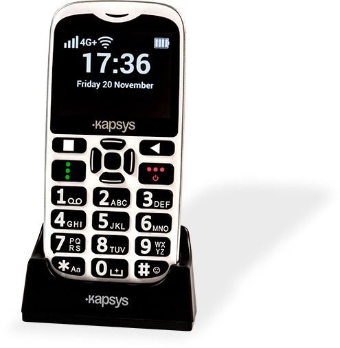 Telefono parlante semplificato Minivision2 con tastiera per non vedenti
