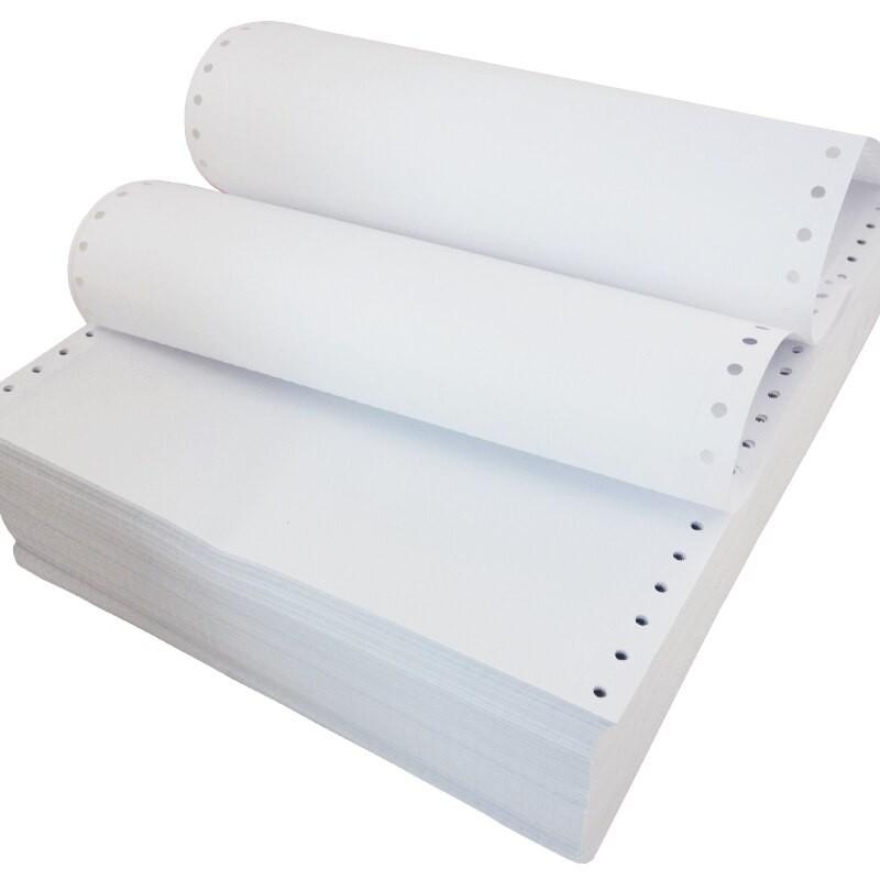 Carta a modulo continuo per stampante braille 140 gr/mq