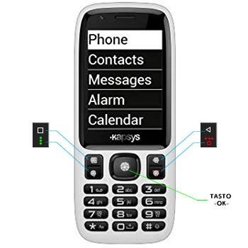 Minivision Easy: un nuovo cellulare parlante, semplice da usare, con comandi vocali e tastiera tattile