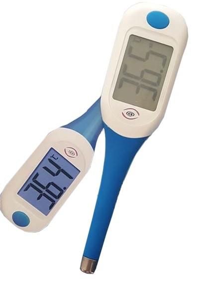 Termometro medicale parlante istantaneo in silicone
