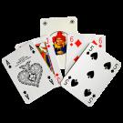 Maxi carte da gioco francesi per ipovedenti