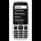 Telefono parlante semplificato Minivision con tastiera per non vedenti